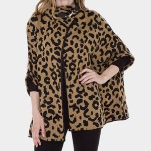 ONE SIZE LEOPARD CAPE